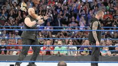 Randy Orton calls out Bray Wyatt. Erick Rowan