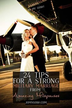 Strong military marriages are important! Advice from military spouses