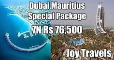 Dubai Mauritius Special Holiday Tour Package Know more http://www.joy-travels.com/package-details/47-mauritius-dubai-special-2