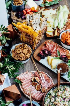 The Shift Creative shop launch party food | Wedding & Party Ideas | 100 Layer Cake