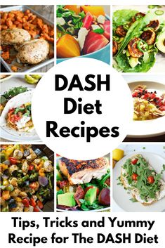 Tips, Tricks and Yummy Recipes for The DASH Diet - Everything you want to know about the DASH diet! #dieting #weightloss #losingweight #weight #healthyrecipes #dietrecipes #dashdiet Yummy Recipes, Dash Diet Recipes, Low Sodium Recipes, Salt Free Recipes, Low Sodium Snacks, Keto Recipes, Soup Recipes, Heart Healthy Diet, Heart Healthy Recipes