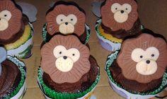 Cupcakes animais da selva