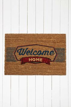 Welcome Home Door Mat - Urban Outfitters