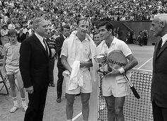 Roland Garros 1968 - Ken Rosewall win Rod Laver