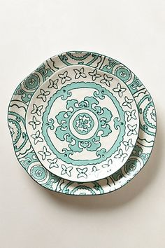Gloriosa Dinnerware #anthropologie. I don't need more dishes, but these are beautiful.