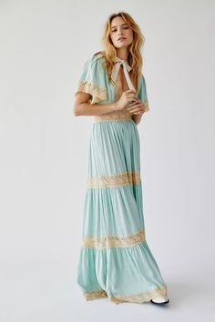 Spell & They Gypsy Ocean Gown | Free People