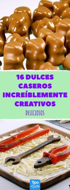 Las 53 mejores imágenes de Dulces creativos | Dulces, Dulces