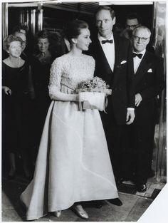 Audrey Hepburn and Mel Ferrer, 1950's
