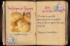 Συνταγές, αναμνήσεις, στιγμές... από το παλιό τετράδιο...: Κουλουράκια Jaba, Sweets, Bread, Cookies, Tableware, Blog, Recipes, Crack Crackers, Dinnerware