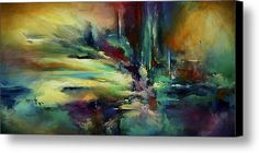 'the Edge' Canvas Print / Canvas Art By Michael Lang