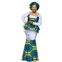 African fashion dresses - African Style Top and Long Skirt Women Cotton Print Kitenge Ankara ONeck Best African Dresses, African Wedding Dress, Latest African Fashion Dresses, African Print Fashion, African Attire, African Wear, African Style, African Design, African Beauty