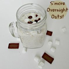 I'm Making S'mores While I Sleep With These S'mores Overnight Oats