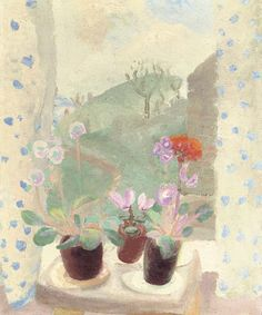View Red geranium by Winifred Nicholson on artnet. Browse upcoming and past auction lots by Winifred Nicholson. Winifred Nicholson, William Nicholson, Red Geraniums, Still Life Flowers, Still Life Art, Vanitas, Mellow Yellow, Painting Inspiration, Painting & Drawing