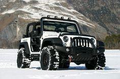 El abominable coche de las nieves