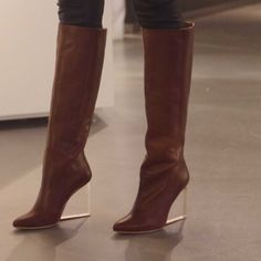 Maison Martin Margiela for h&m boot EUR39 US 8 I actually really don't want to sell these but I'm broke...worn twice. Mint condition Maison Martin Margiela Shoes Heeled Boots
