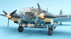 Revell Heinkel He scale Ww2 Aircraft, Fighter Aircraft, Fighter Jets, Luftwaffe, Scale Models, Mixed Models, Heavy And Light, Aircraft Pictures, Model Airplanes