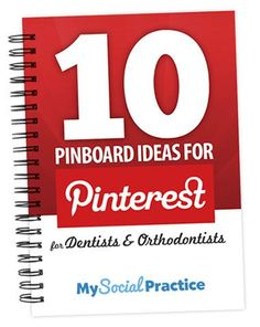 Jack Hadley of My Social Practice has 10 Pinterest tips for pinboards for your dental practice.