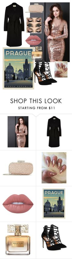 """""""Prague 5"""" by beautylv ❤ liked on Polyvore featuring River Island, Oscar de la Renta, Lime Crime, Givenchy and Steve Madden"""