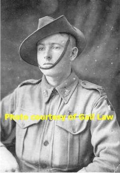 Herbert Claude Rayner 47th Battalion KIA 17/6/1917. Mother, Mrs Alice Rayner of Tiaro