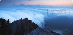 Grandfather Mountain -- One of the highest peaks in the Blue Ridge mountains that offer beautiful mountain scenery, alpine hiking trails, nature preserve and museum, picnicking, and naturalist programs