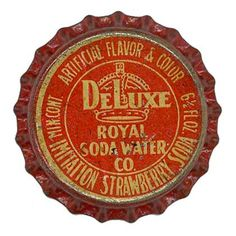 Delux Royal Soda Water by Neato Coolville, via Flickr