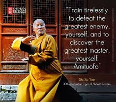 Tai Chi, Kung Fu, Wing Chun, Tai Chi Swords — The way to be a kung fu master! Great quotes for. Karate, Wisdom Quotes, Life Quotes, Quotes Quotes, Citations Sport, Martial Arts Quotes, Kung Fu Martial Arts, Martial Arts Workout, Martial Arts Training