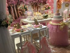 You want want to miss this fabulous Princess pink and gold Baptism/1st Birthday party! See more party ideas at CatchMyParty.com