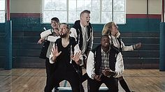 Pentatonix: Cheerleader. The way avi stands is even perfect!