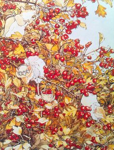 Autumn in Brambley Hedge. By Jill Barklem. - As I child I simply loved this book!