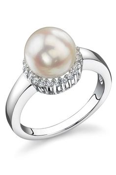 Freshwater Cultured Pearl Ring.