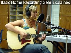 A good explanation of the basic equipment you need to get started recording music & audio at home.