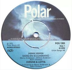 Svenne & Lotta,  single record. Before CD:s.