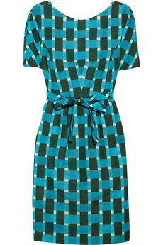 "Jonathan Saunders ""Evelyn"" Cotton Print Dress - $1490 - WORN 7/6/14"