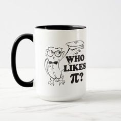 #teacher - #Who Likes Pi?  Tavel Mug