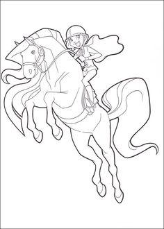 Coloriage De Cheval Du Ranch.16 Meilleures Images Du Tableau Le Ranch Coloring Pages Drawings