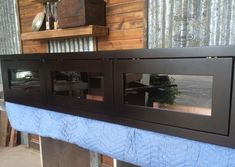 Floating Console Floating TV Stand Espresso by Prairiewoodworking Floating Tv Unit, Floating Tv Stand, Living Room Entertainment Center, Entertainment Wall, Home Stairs Design, Tv Wall Design, The Doors, Banquettes, Tv Unit Furniture