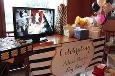 Alexa's Kate Spade Themed Bridal Shower   CatchMyParty.com
