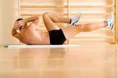 A tight piriformis interferes with abdominal training.