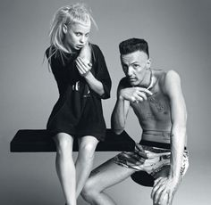 Die Antwoord (the answer) is a rap group from South Africa.