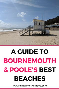 If you're looking for a UK holiday destination check out this list of Bournemouth & Poole's best beaches Travel Uk, Travel Abroad, Family Travel, Travel Tips, Bournemouth Beach, England Beaches, Devon And Cornwall, Uk Holidays, Family Days Out