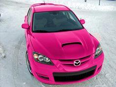 Pink Mazda 6 S