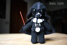 Darth Vader Star Wars Amigurumi muñeca