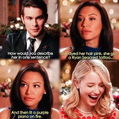 I love Quinn's laugh. That scene was awesome. That guys a jerk though. QUICK FOR LIFE!!!