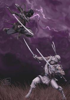 Ninja ideas for drawing Ninja Art, Fantasy Art, Storm Shadow, Samurai Artwork, Fantasy Warrior, Samurai Art, Art, Ninja Warrior, Shadow Warrior