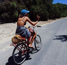 Biking makes you break sweat and targets your thighs and butt, which burn the most fat.
