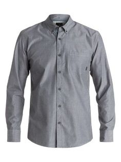 09e708d4c74a9f Quiksilver Mens Everyday Wilsden Long Sleeve Shirt