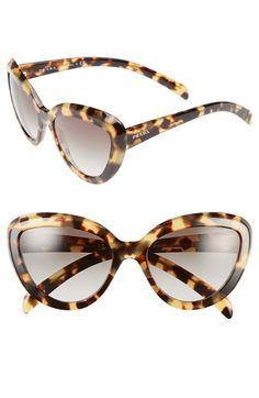 Prada 57mm Cat Eye Sunglasses | Nordstrom