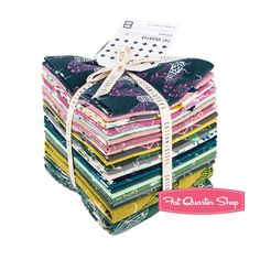 Raindrop Fat Quarter Bundle Rashida Coleman-Hale for Cotton + Steel Fabrics | Fat Quarter Shop