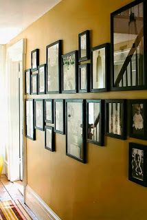 neat frame idea Frames on walls