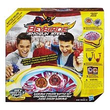 "Beyblade - Shogun Steel - Samurai Cyclone Battle Set - Hasbro - Toys""R""Us"